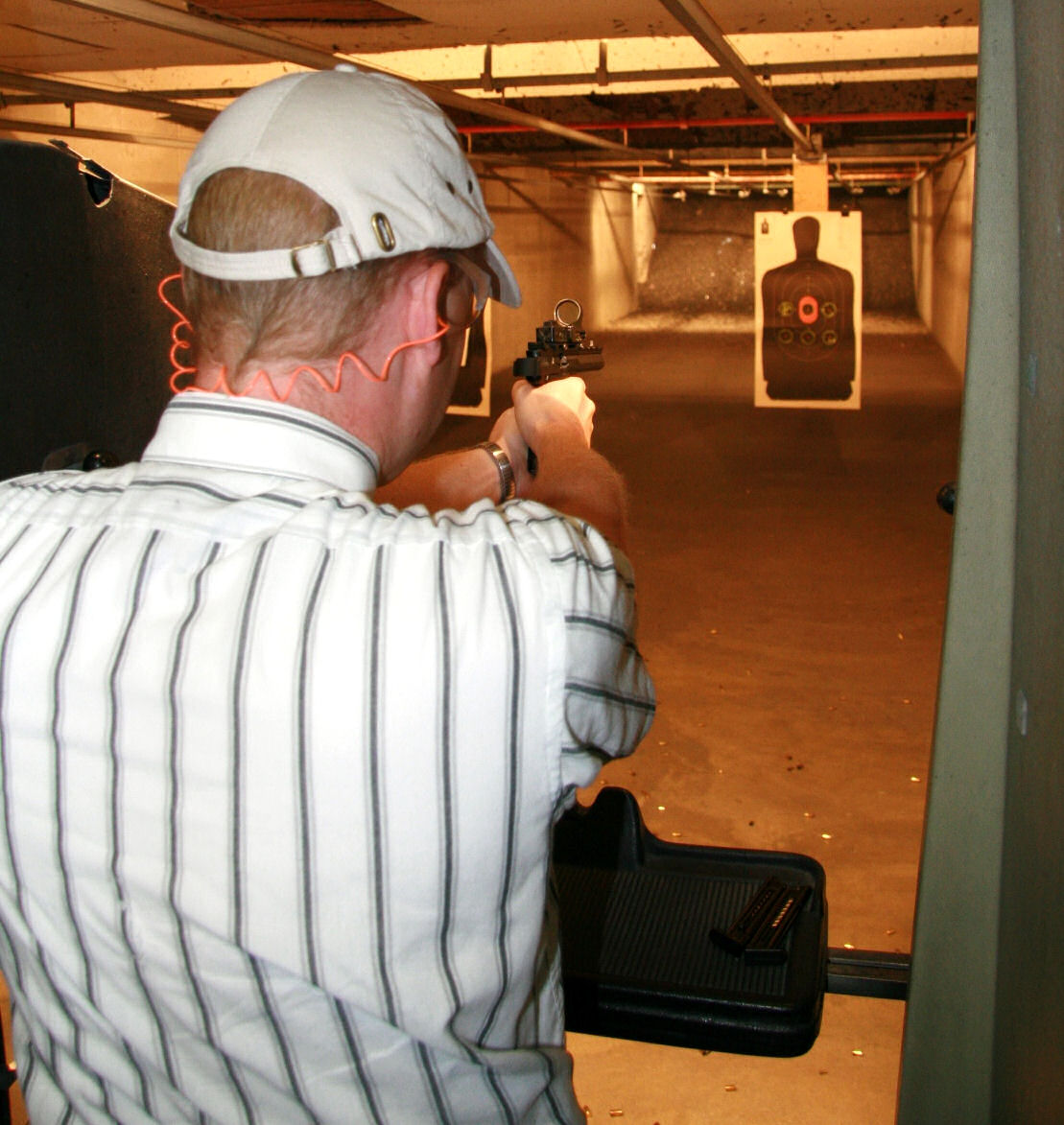 Brian J. firing the .22