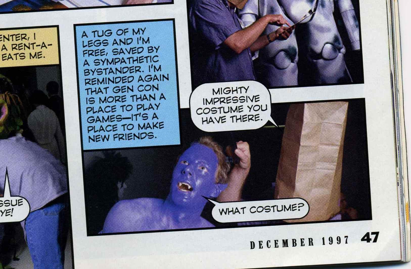 Brian J. Noggle in December 1997 Inquest Magazine
