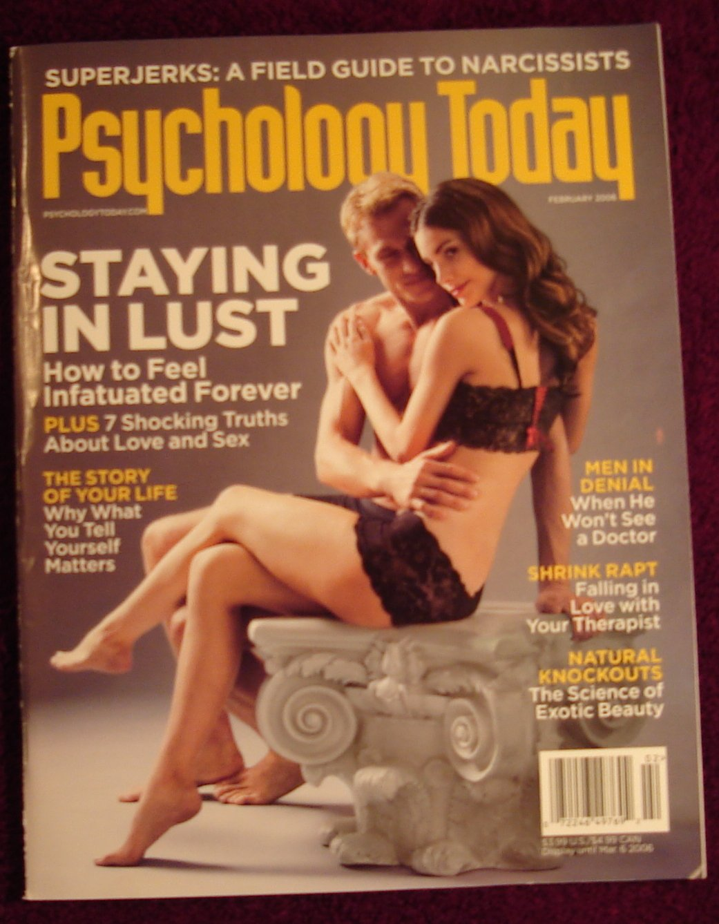 Psychology Today February 2006 Cover