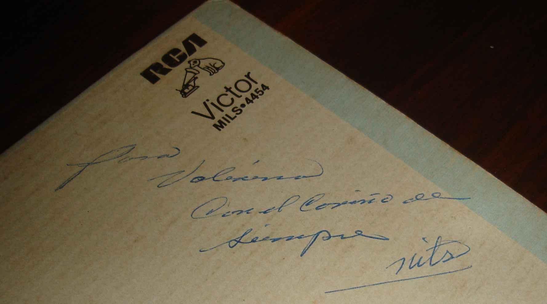 Senora inscription