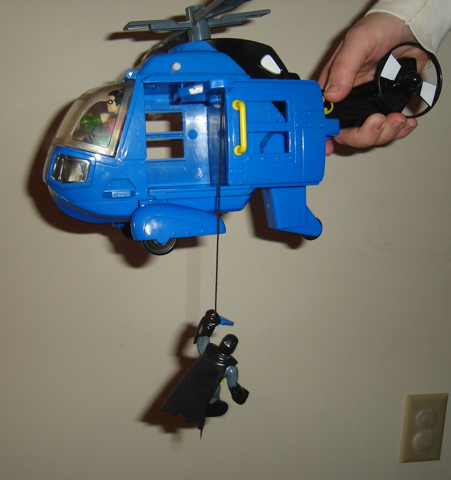 The Batman Helicopter