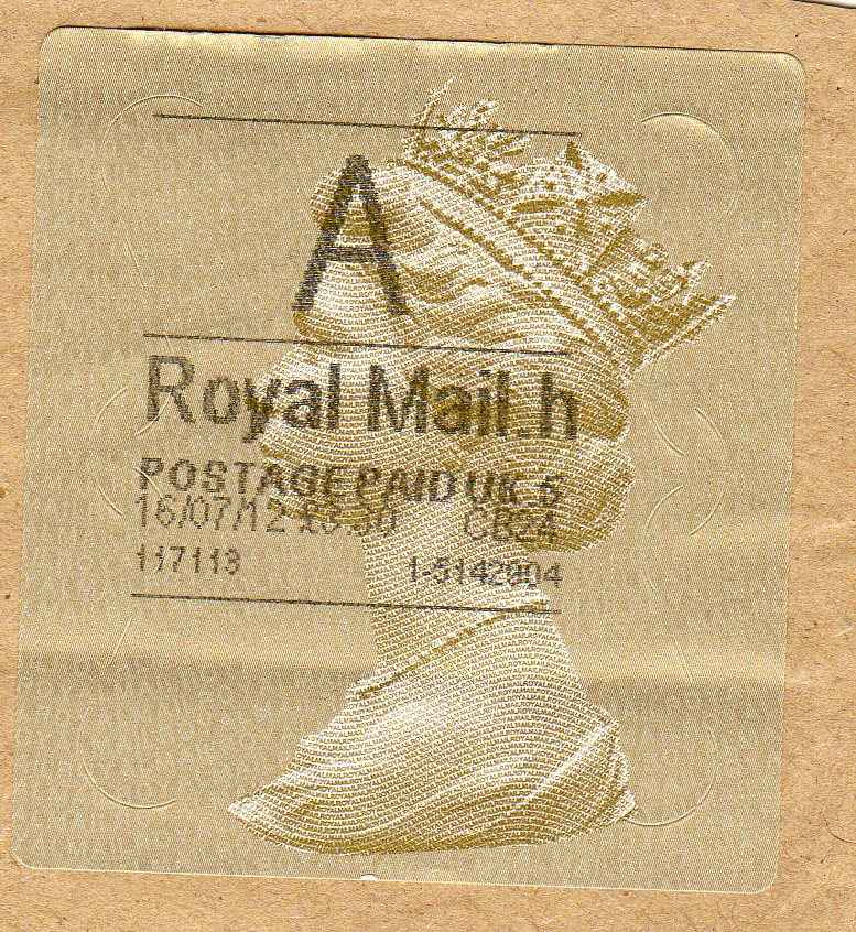 A British stamp, I think