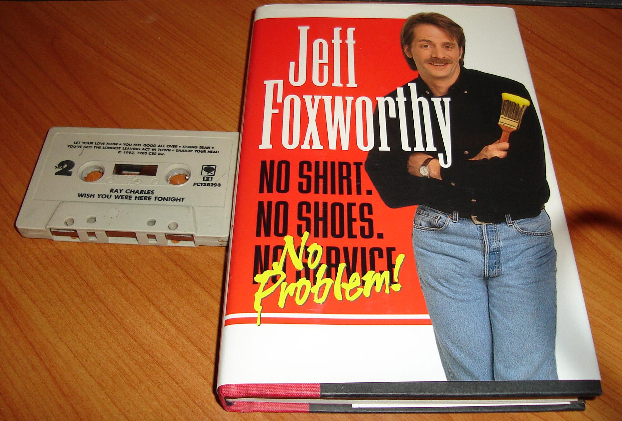 A book, a cassette, a buck