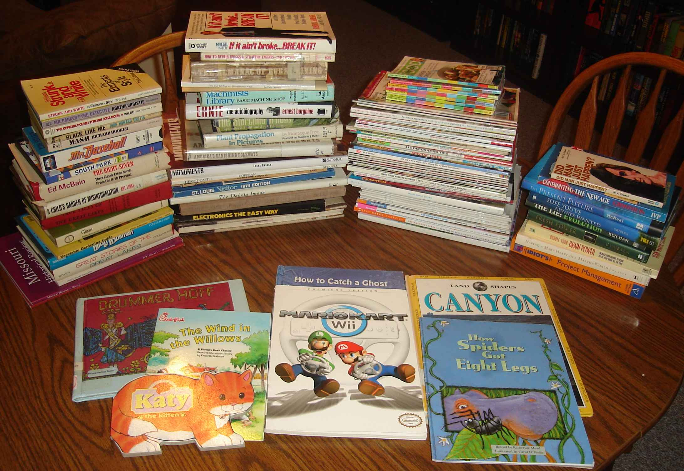 The proceeds from the Spring 2012 Friends of the Christian County Library book sale