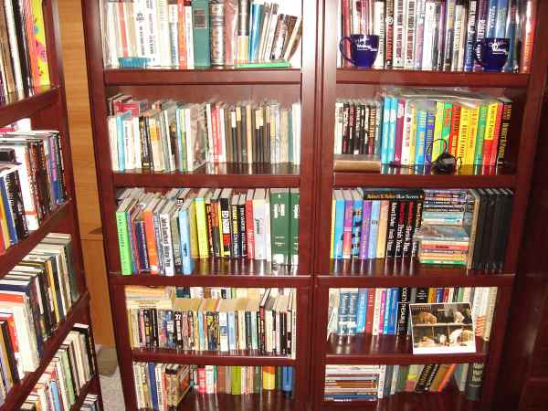 Brian's read books, shelves 3 and 4