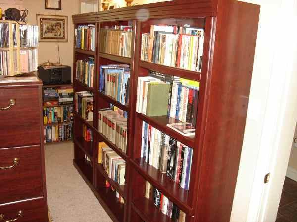 Brian's unread books