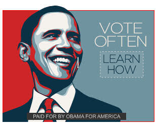 Obama Vote Often Ad
