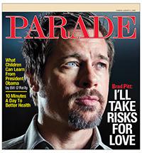 Parade with Brad Pitt