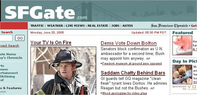 SFGate Headline