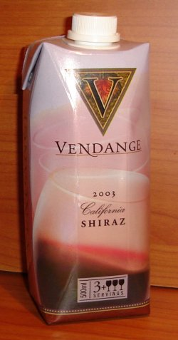 Vendange Shiraz